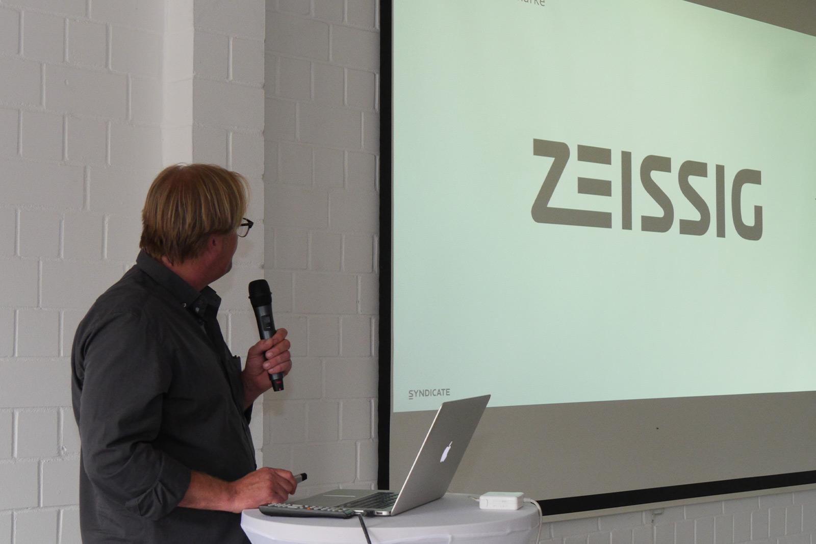 Syndicate Geschäftsführer Heiko Hinrichs erklärt die Entstehung des neuen Corporate Designs