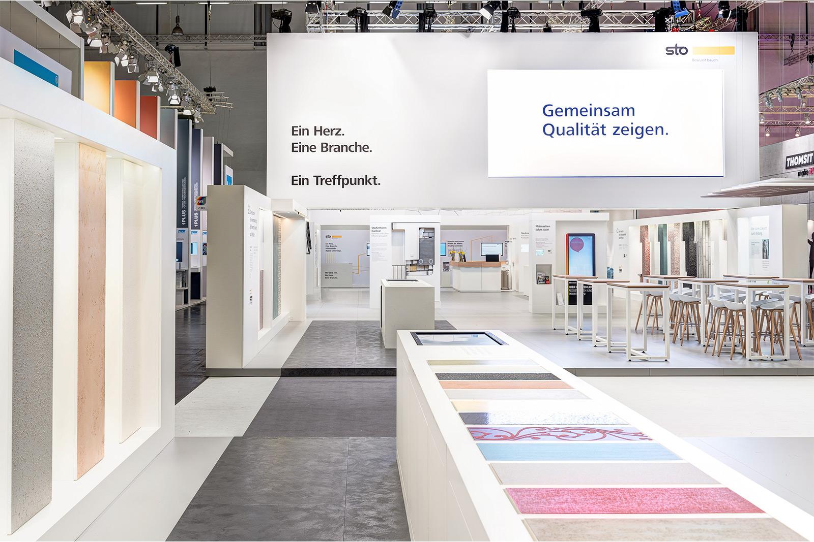 Temporäre Markenwelt - Sto auf der Farbe 2019 in Köln
