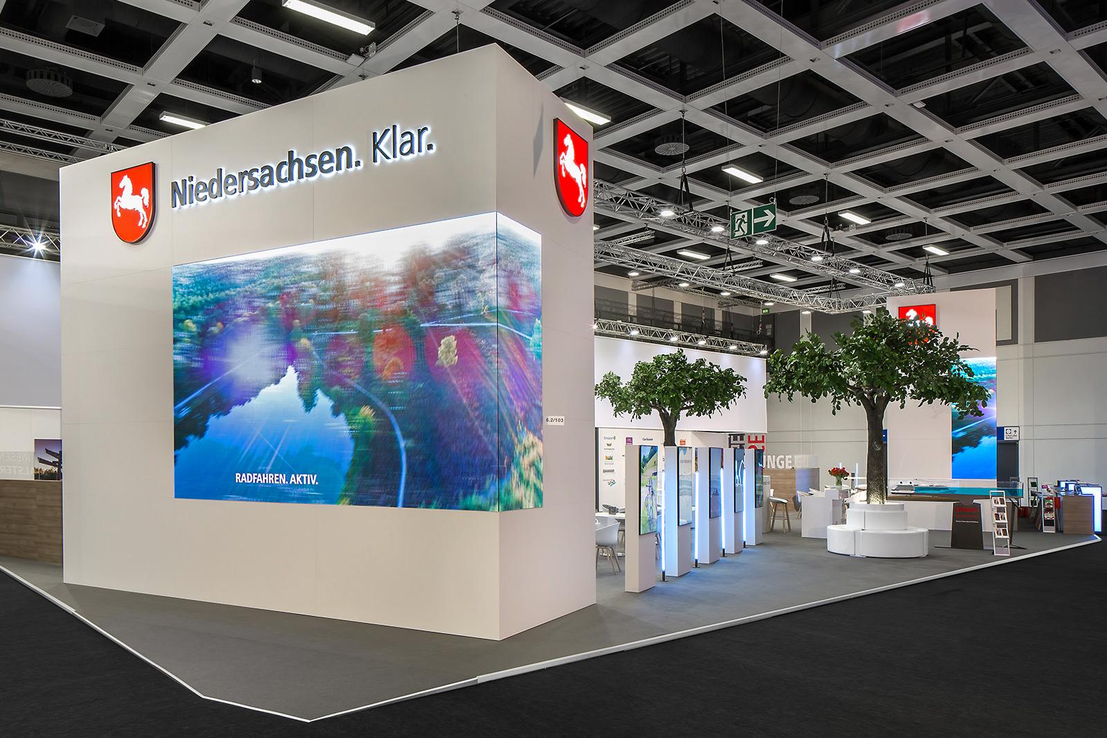 Temporäre Markenwelt - TMN auf der ITB 2019