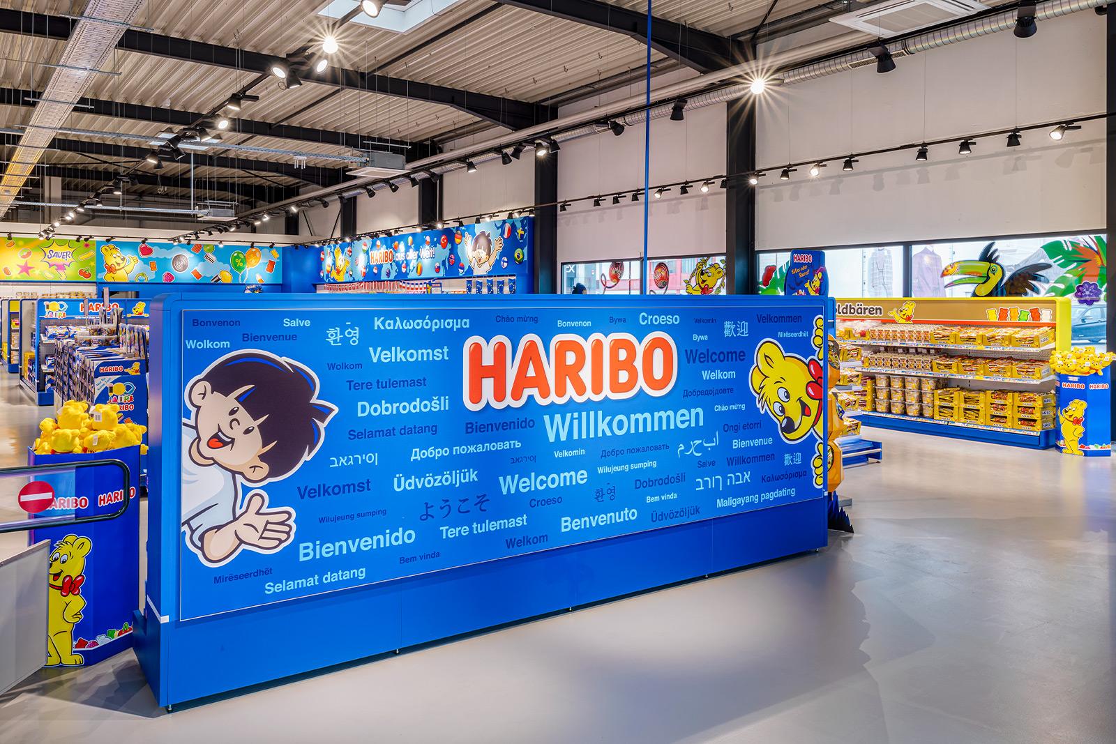 HARIBO am POS -- Zeissig Ladenbau, Retail, Shop-in-Shop, stationäre Markenwelten